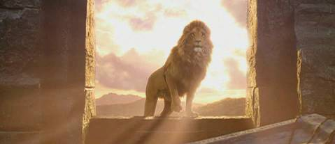 Image result for aslan resurrection
