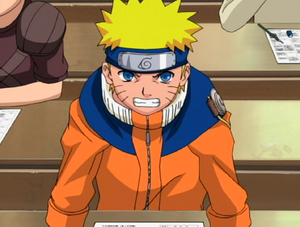 Naruto At The Written Exams