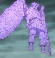 Sasuke's Flying Susanoo