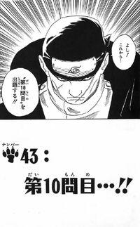 Naruto Chapter 43