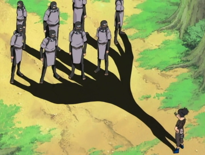 Shikamaru's shadow catches multiple enemies.png
