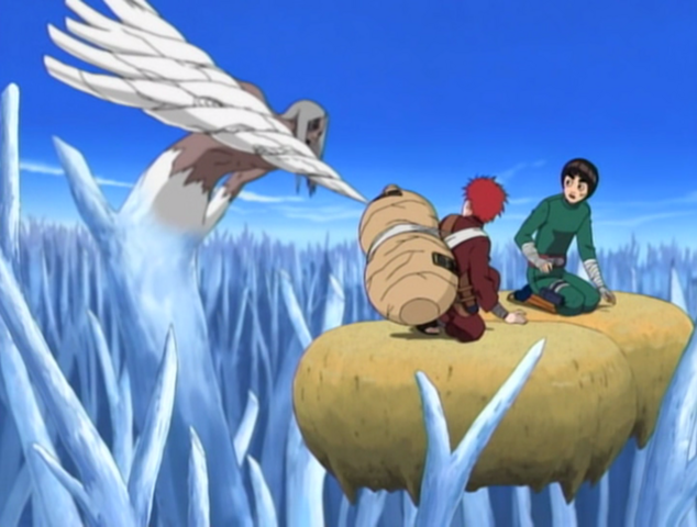 File:Kimimaro vs Gaara Rock Lee.png