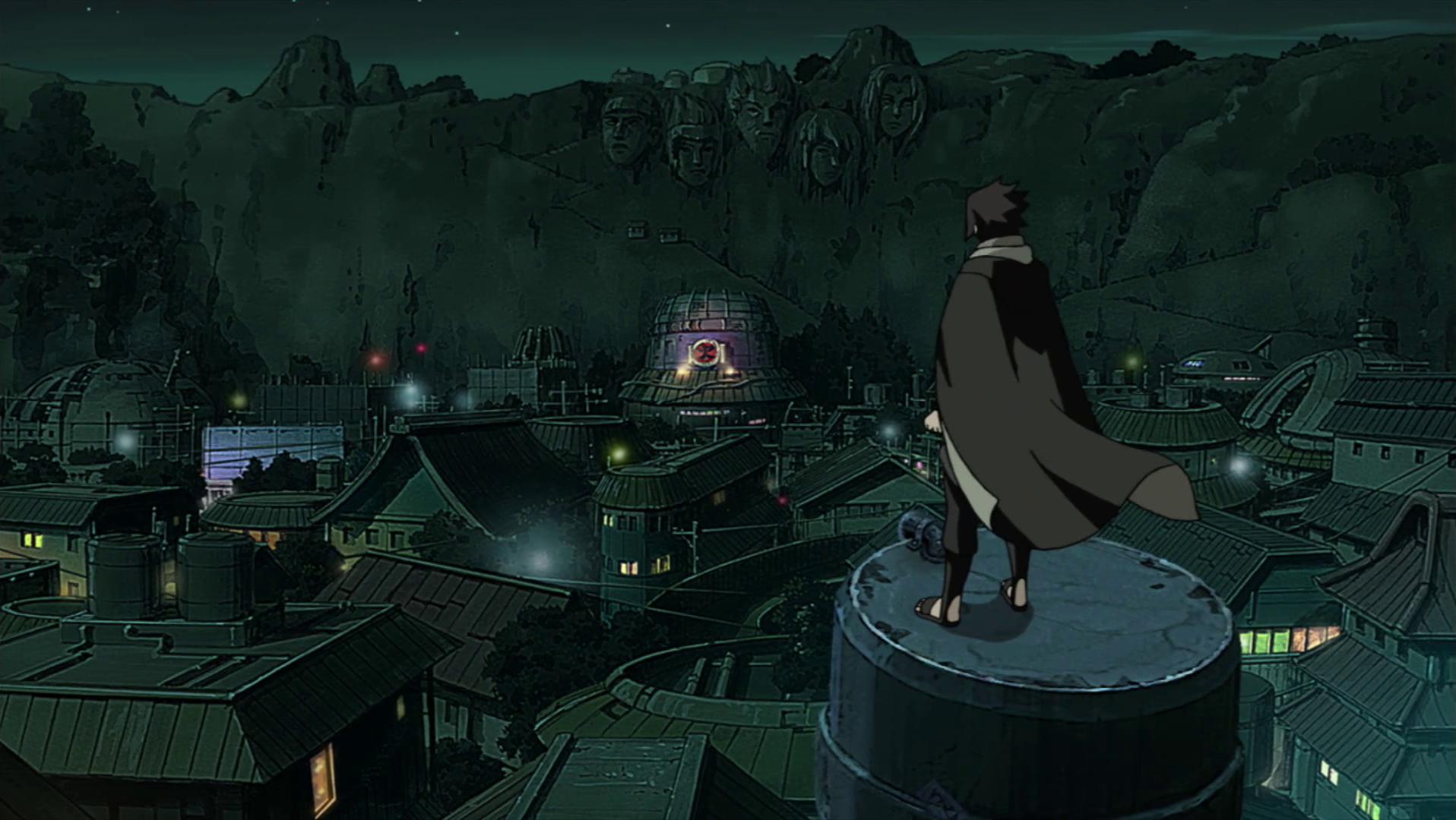 Image - Sasuke returns to Konohagakure.png   Narutopedia ...