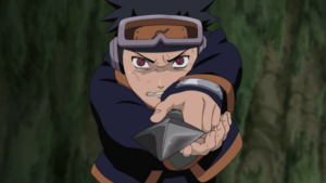 Obito awakens the Sharingan