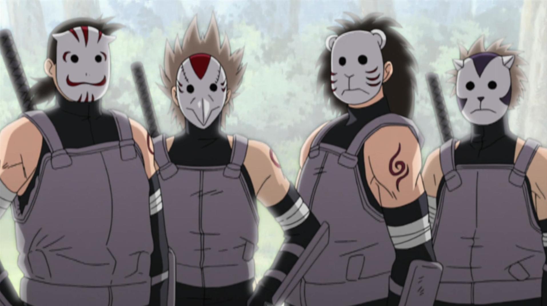 Naruto As A Anbu Konoha Anbu