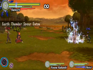 Earth thunder spear jutsu
