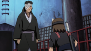 Danzo speaks with Kinoe