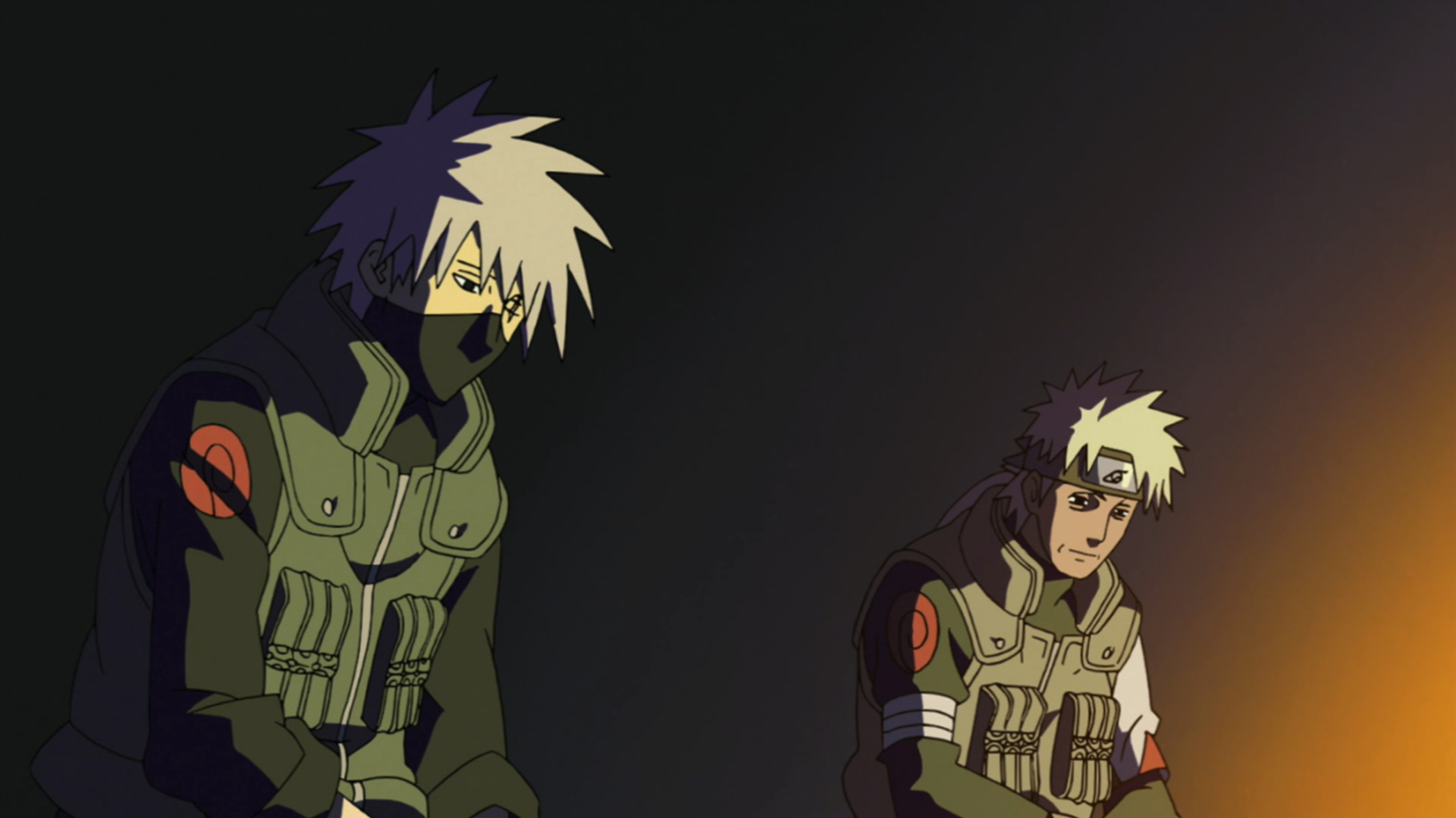Image result for kakashi and his father