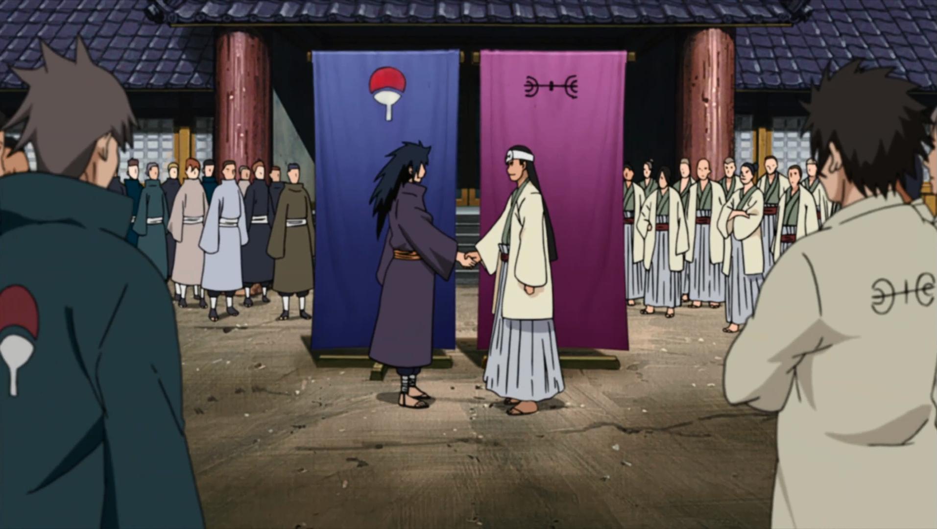 Uchiha Family The Senju and Uchiha form an