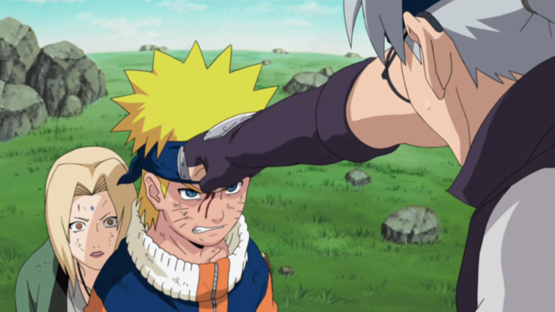 Image - Naruto protects Tsunade.png | Narutopedia | FANDOM powered ...