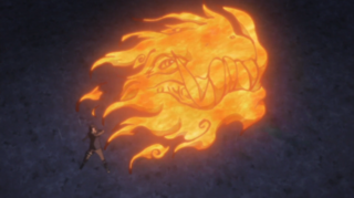 Fire Release Great Dragon Fire Technique