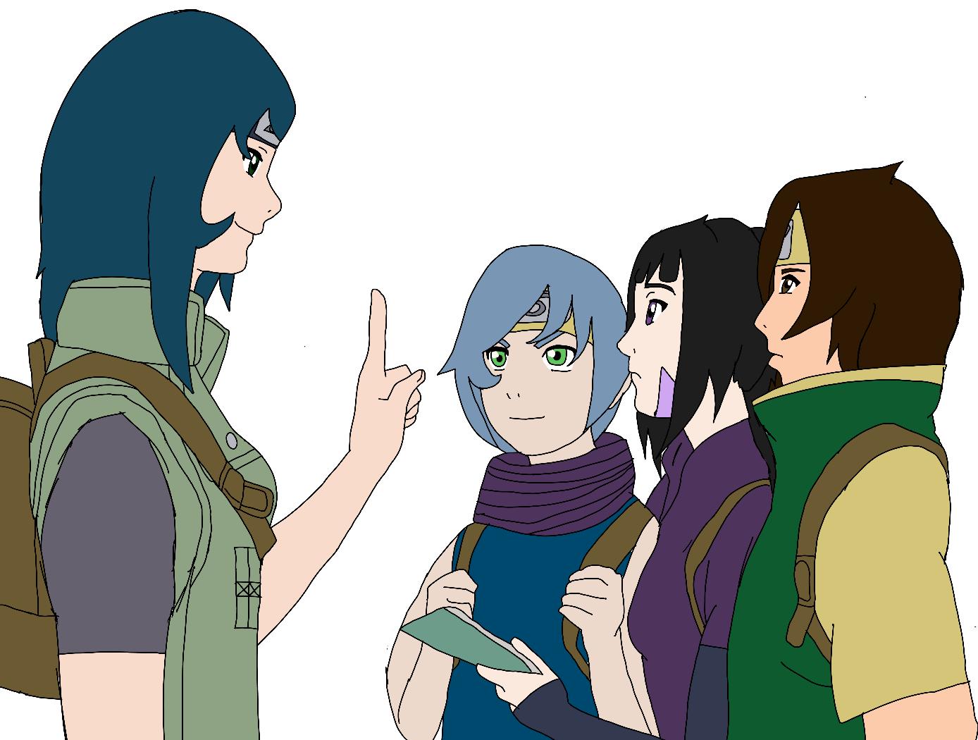 Naruto OC Team by Tora-chi on DeviantArt