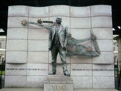 Yuri Medvedev Statue
