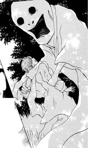 Susugi grabbing natsume