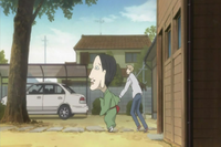 Chobihige dragging natsume