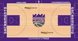 Sacramento Kings Home court design