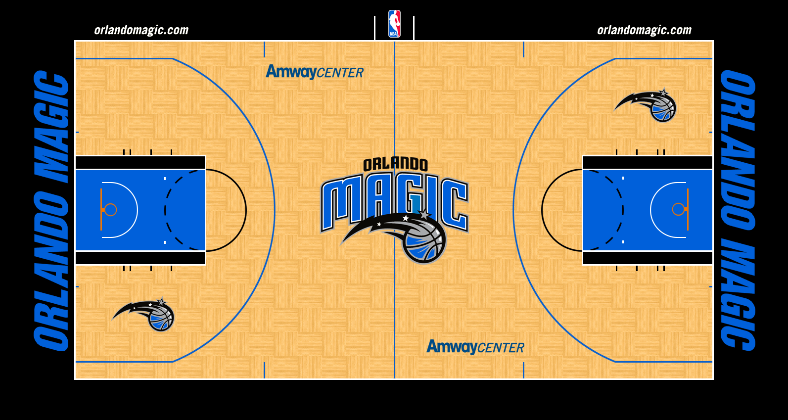 Image - Orlando Magic court logo 2010-2013.png | Basketball Wiki | FANDOM powered by Wikia