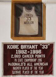 Kobe Bryant retired HS2