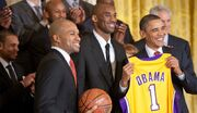 Lakers White House 2010