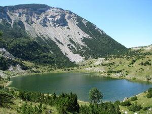 Šatorsko jezero - gorsko oko - 13554846