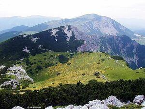 Spring - 2. highest peak