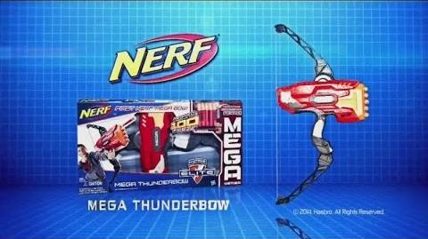 Toy Commercial 2014 - Nerf Mega Thunder Bow - Let's Slow Things Down - Take Aim & Fire 100 Feet