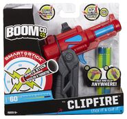 Clipfire packaging