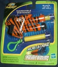 Nerf Secret Strike Tigerskin Packaging