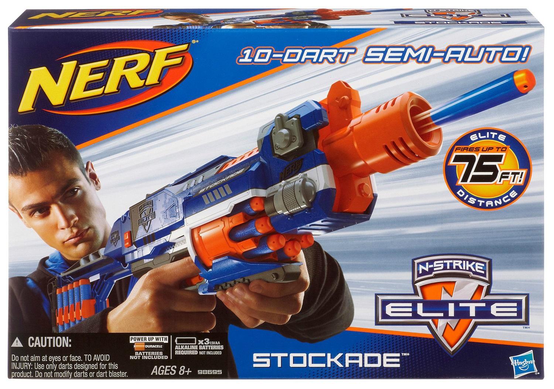 Nerf Stockade Review   Nerf Gun Attachments