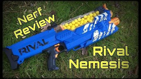 Review NEW Nerf Rival Nemesis MXVII-10K (Game Changing Primary)