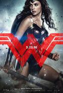 Wonder Woman BVS poster