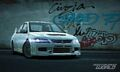 CarRelease Mitsubishi Lancer Evolution IX MR-Edition White