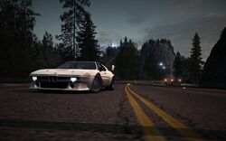 CarRelease BMW M1 Procar White