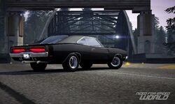 CarRelease Dodge Charger RT Black