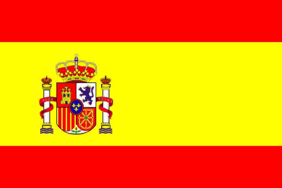 Drapeau espagnol vacances arts guides voyages - Drapeau espagnol a colorier ...