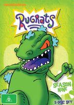 Rugrats Season 9 DVD Austraila