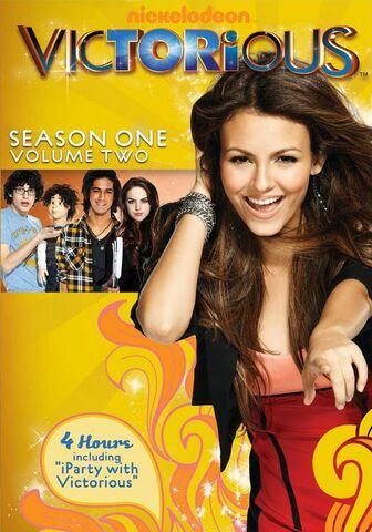 File:Victorious Season1 Volume2.jpg