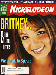 Nickelodeon Magazine cover march 2000 Britney Spears
