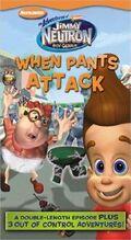 JimmyNeutron WhenPantsAttack VHS