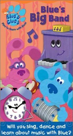 File:Blue's Clues Blue's Big Band VHS.jpg