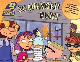 Rocket Power Scavenger Hunt Book