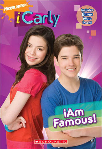 File:ICarly iAm Famous! Book.jpg