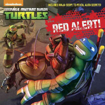 Teenage Mutant Ninja Turtles Red Alert! Book