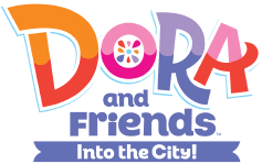 File:Dora and Friends Into the City - Original logo.png