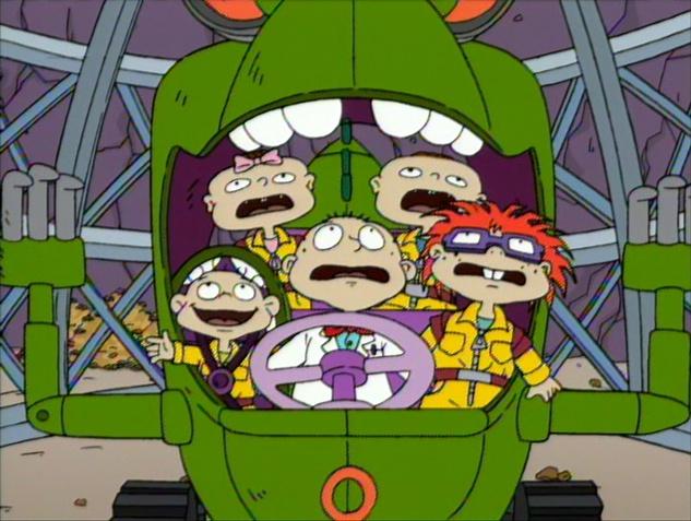 Runaway Reptar Nickelodeon Fandom Powered By Wikia