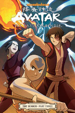Avatar The Last Airbender The Search Part Three Book