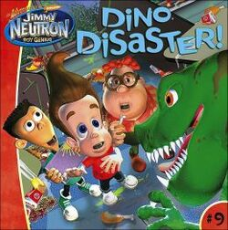 Jimmy Neutron Dino Disaster! Book