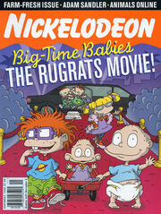 Nickelodeon Magazine cover November 1998 Rugrats Movie