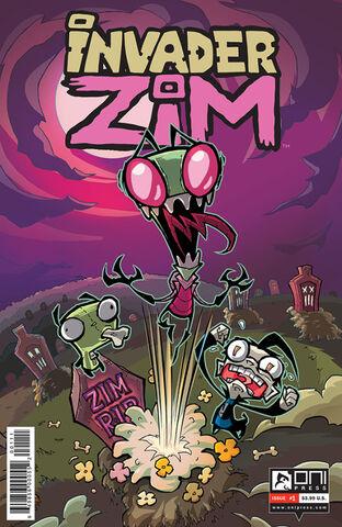 File:Invader Zim Comic Number 1.jpg