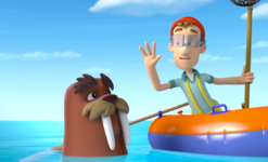 PAW Patrol Wally and Cap'n Turbot